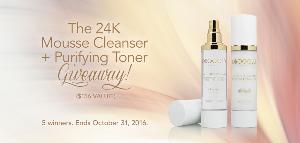 Orogold 24K Mousse Cleaner + Purifying Toner Giveaway