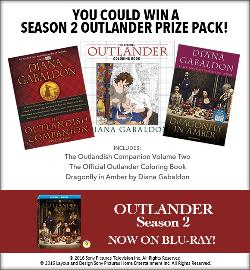 Outlander Season 2 Prize Pack   movies
