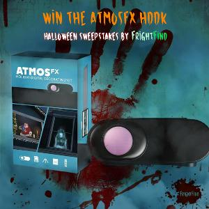 OVER $1,000 IN HALLOWEEN DIGITAL DECORATIONS FROM ATMOSFX AND FRIGHTFIND