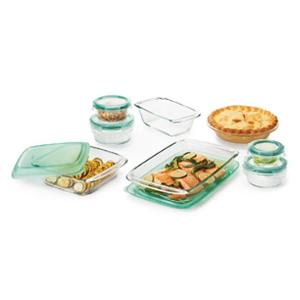 OXO 14-Piece Glass Bake, Serve & Store Set (ARV $69.99)