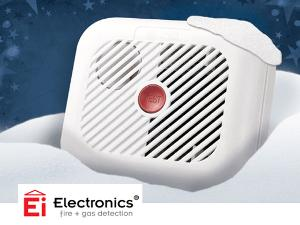 pack of 4 Ei Smoke Alarms Giveaway!