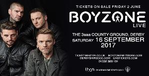 Pair of Boyzone tickets Giveaway!