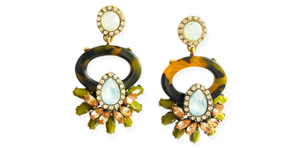 Pair of Coco Loves Rome Earrings ($20)