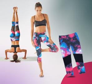 Pair of Dear Kate Go Kommando Yoga Capri Leggings!
