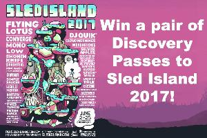 Pair of Discovery Passes to Sled Island 2017