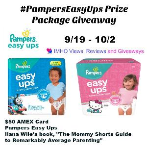 PampersEasyUps Prize Package Giveaway