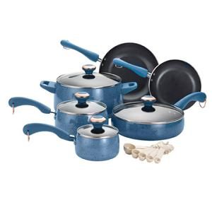 Paula Deen Nonstick 15-Piece Cookware Set (ARV $110)