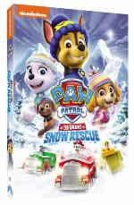 Paw Patrol: The Great Snow Rescue DVD