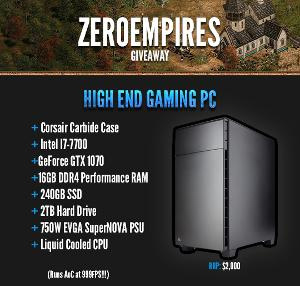 PC GIVEAWAY: WIN A BRAND NEW GAMING PC WITH INTEL I7