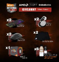 PC Parts & Peripherals from BEAT, Soylent, AMD & Steelseries