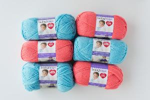 Peachie Baby Hugs Yarn Bundle