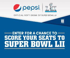 Pepsi invintation to enter into giveaway