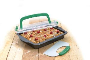 Perfect Slice Covered Cake Pan Giveaway