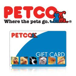 PET GIFT CARD GIVEAWAY