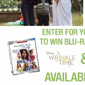 Peter Pan & A Wrinkle In Time Blu-ray Prize Pack