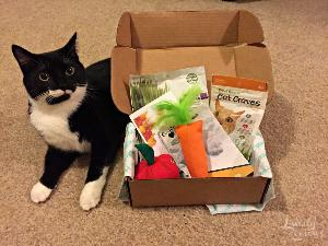 PetPack cat or dog subscription box