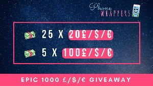phonewrappers giveaway prizes