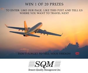 Photo Announcing SQM's Facebook Contest