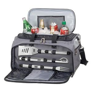 Picnic Time Tailgating Grill & Cooler Set (ARV $116)