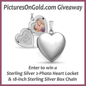 PicturesOnGold.com Build Your Own Locket Giveaway