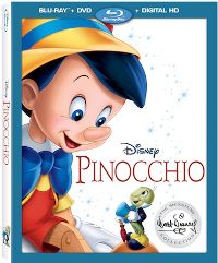 Pinocchio Bluray Combo