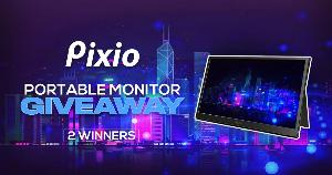 Pixio is excited to announce this Portable Monitor giveaway!