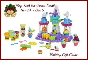 Play-Doh Ice Cream Castle Holiday