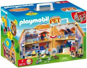 playmobil pet clinic