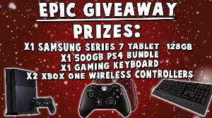 Playstation 4 Giveaway and Xbox One Giveaway