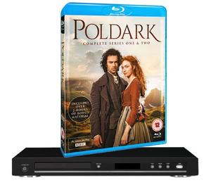 Poldark box set & Blu-ray player Giveaway!