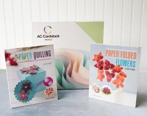 Pretty Paper Flowers Books and Cardstock Giveaway