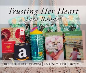 Prize #1: Signed print copies of The Bridal Bouquet, The Lawman's Secret Vow, and Rival Hearts, tote bag, water bottle and $25 Amazon Gift Card. (Open to US only)  Prize #2: $25 Amazon e-Gift Card (Open Internationally)
