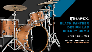 Contest Win Mapex Black Panther Design Lab Cherry Bomb 4 Piece