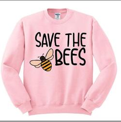 Prizes = (1) Save the Bees Sweatshirt; (5) Signed Paperback Copy Lavender Toes (A Cold Cream Murder Mystery) by Barbara Silkstone; (5) Digital Copy - Lavender Toes (A Cold Cream Murder Mystery) by Barbara Silkstone