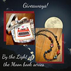 Prizes= $25 Amazon Gift Card , Handmade Book Bag , Long Handmade Necklace – 1 winner each
