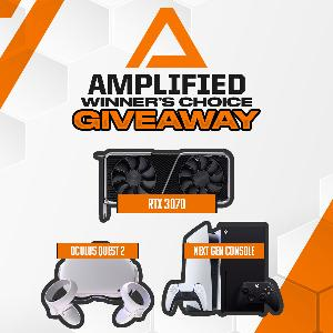 Prizes= Winner's choice of PS5, Xbox One X, Oculus Quest 2, or RTX 3070!!