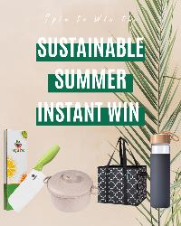 Prizes= WiseLife Reusable Grocery Bags / VegItPro Ceramic Knife / Gourmet Eco Friendly Microwave Pressure Cooker / Yomious 20 Oz Borosilicate Glass Water Bottle!