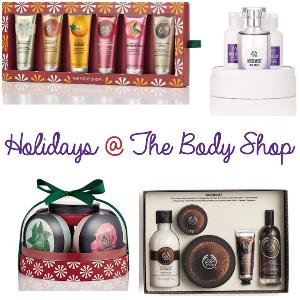 products from the body shop