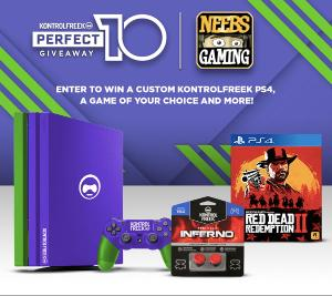 Contest: Win a PS4 Pro system customized by ColorWare Perfect 10