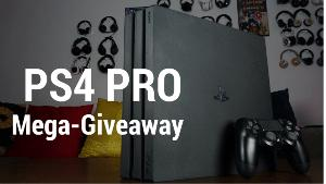 PS4 PRO Mega Giveaway with SteelSeries