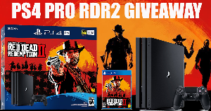 PS4 Pro Red Dead Redemption 2 Giveaway