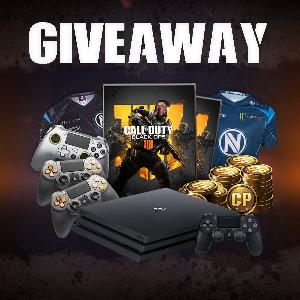 PS4 Pro, SCUF Controllers, CoD Black Ops 4, CoD Points, & Envy Jerseys