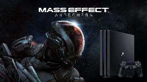 PS4 PRO WITH MASS EFFECT: ANDROMEDA