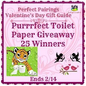 Purrrfect Toilet Paper Giveaway