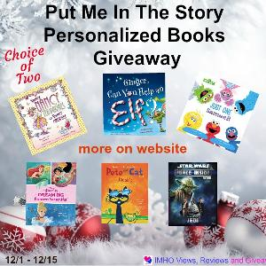 Put Me In The Story Personalized Books Giveaway!