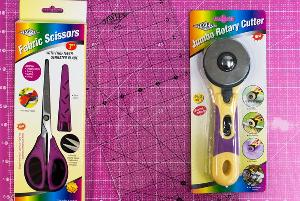 Quilter's Cutting Mat and Rotary Cutter Medley Giveaway