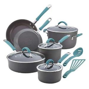 Rachael Ray Hard Anodized Cookware ($179.99)
