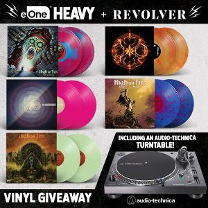 Rare and collectible vinyl: One (1) Chimaira 'The Age of Hell' tangerine galaxy 2LP, One (1) The Contortionist 'Intrinsic' neon pink 2LP, One (1) Audio-Technica stereo turntable...+ lots more!!...