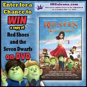 Red Shoes and the Seven Dwarfs DVD Giveaway