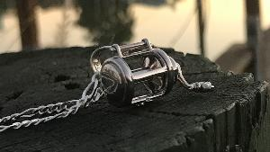 Reel Pendant and Chain